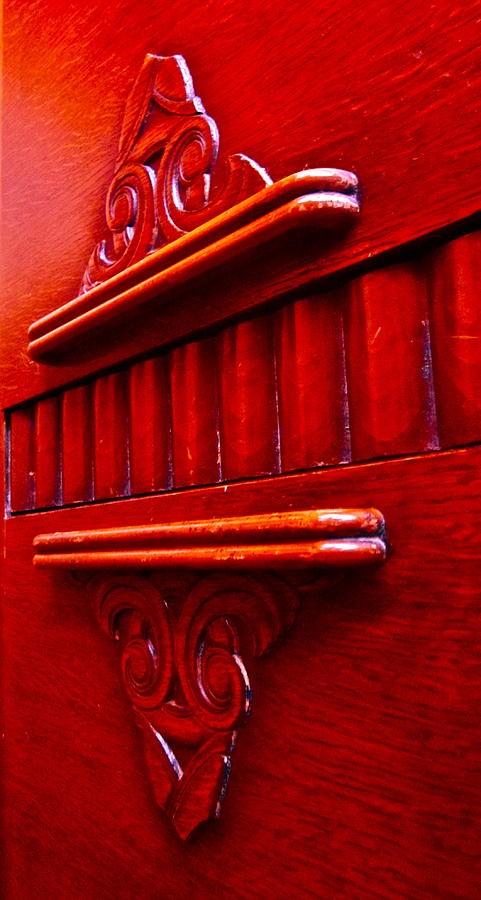 Red Photograph - Regally Red by Gwyn Newcombe