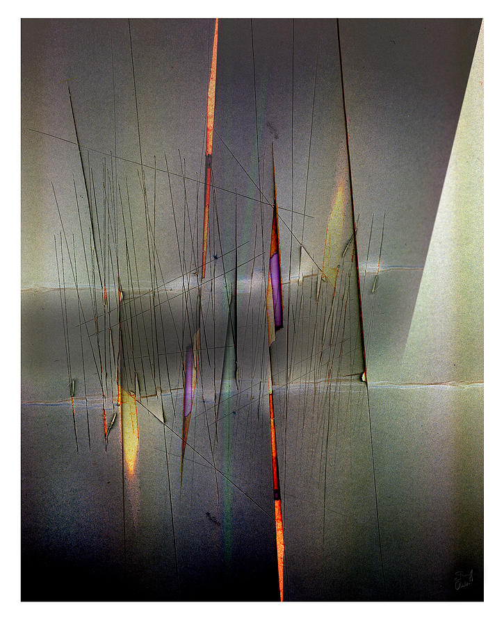 Abstract Digital Art - Regatta by Geoff Ault