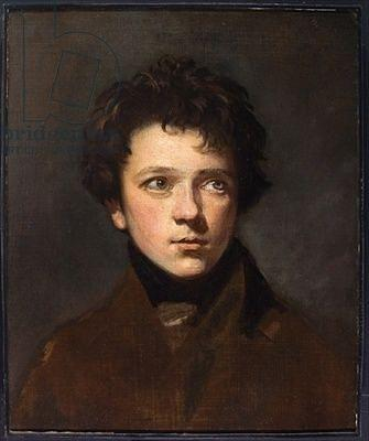Admirable Regency Era Mens Hairstyles Portrait Of A Young Man Painting By Natural Hairstyles Runnerswayorg