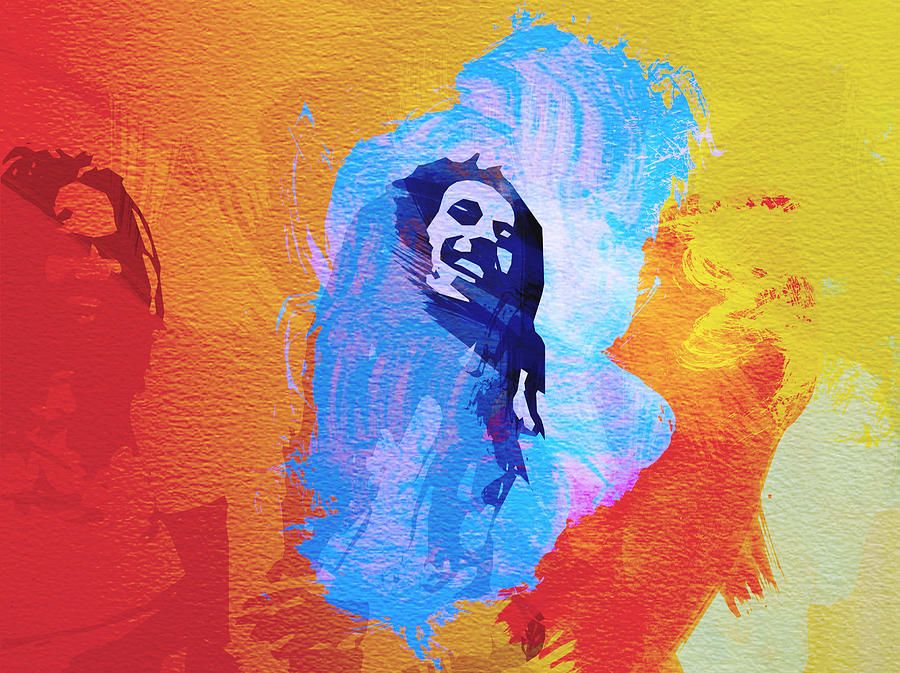 Bob Marley Painting - Reggae Kings by Naxart Studio