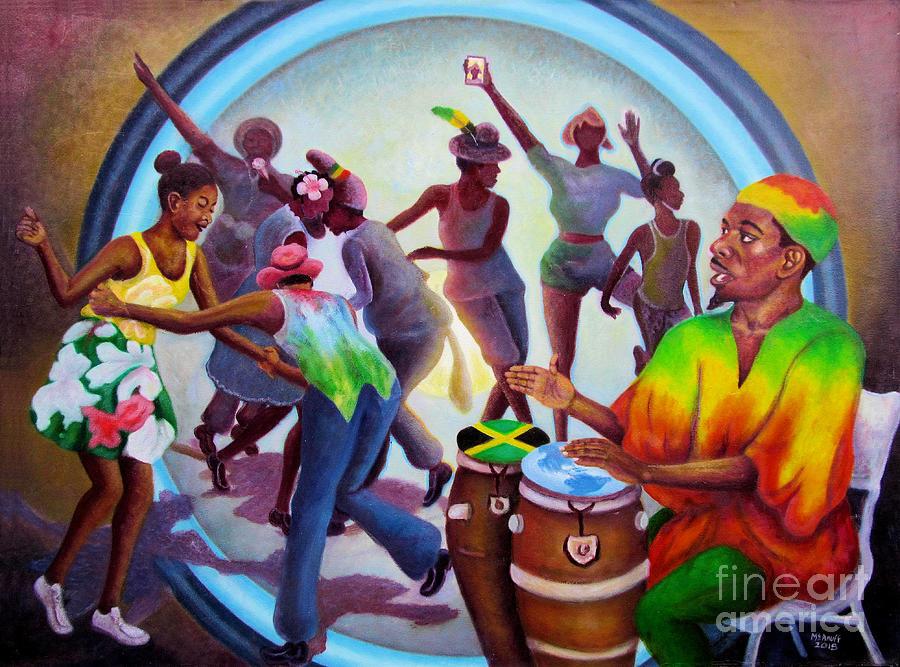Reggae Painting - Reggae Signal by Ewan McAnuff
