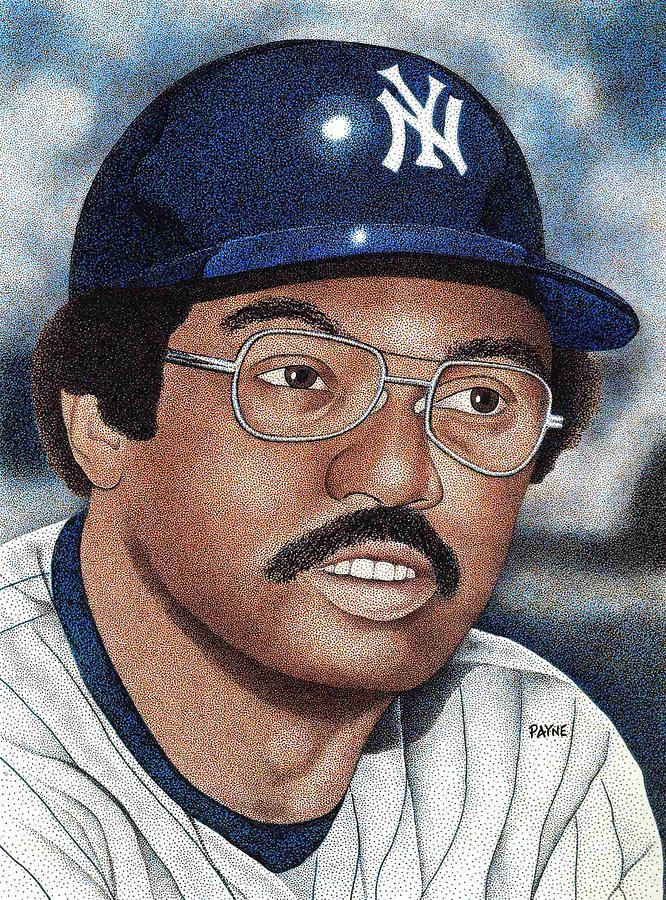 Reggie Jackson Portrait Painting - Reggie Jackson by Rob Payne