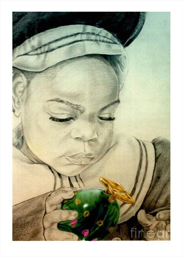 Child Drawing - Regi by Reggie Duffie
