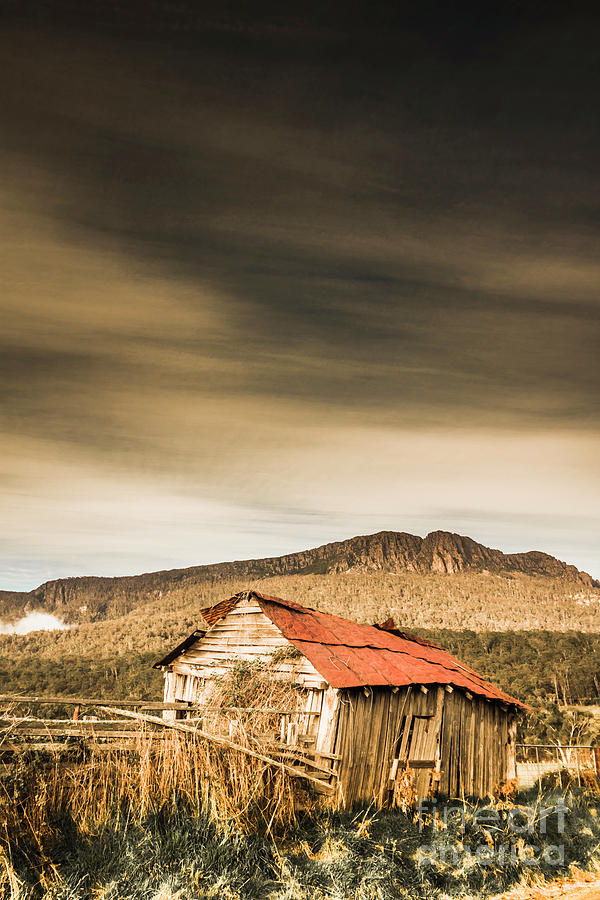 Countryside Photograph - Regional Ranch Ruins by Jorgo Photography - Wall Art Gallery