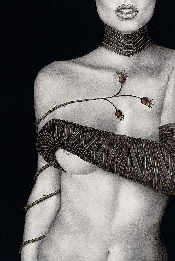 Woman Painting - Regrets by Pat Erickson