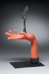 Regrowth Sculpture by Joe Hobbs