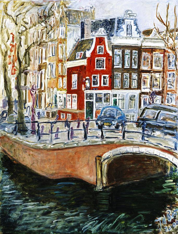 Reguliersgracht Painting by Joan De Bot
