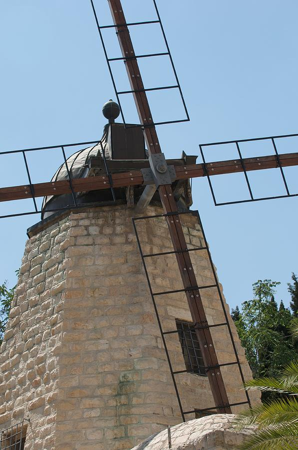 Israel Photograph - Rehavia Windmill by Susan Heller