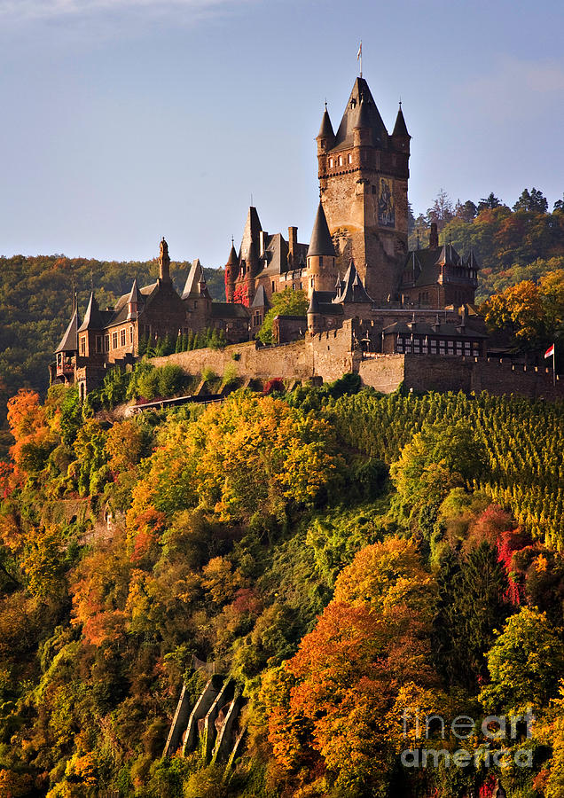 Travel Photograph - Reichsburg Castle by Louise Heusinkveld
