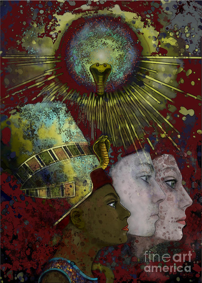 Reincarnate Digital Art - Reincarnate by Carol Jacobs