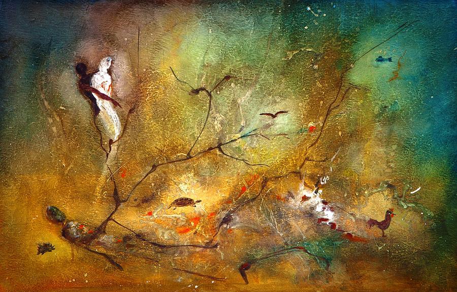 Reincarnation  Painting by Aitziane Hacene