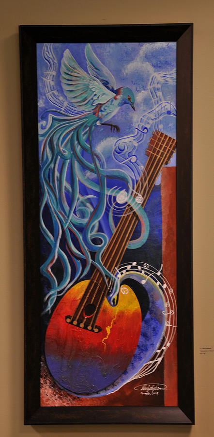 Surrealism Painting - Reinvention Of Music by Darly Raphael