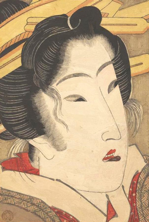 Rejected Geisha From Passions Cooled By Springtime Snow 1825 ...