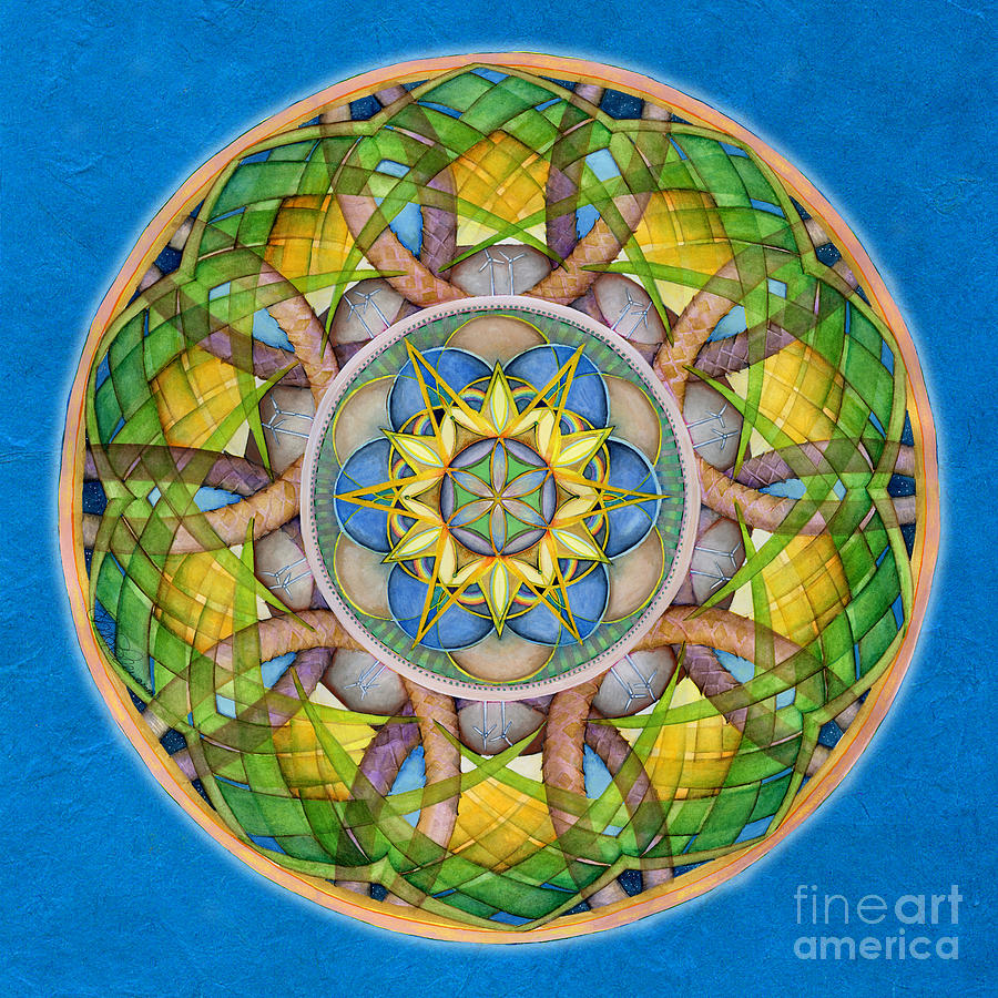 Rejuvenation Mandala by Jo Thomas Blaine