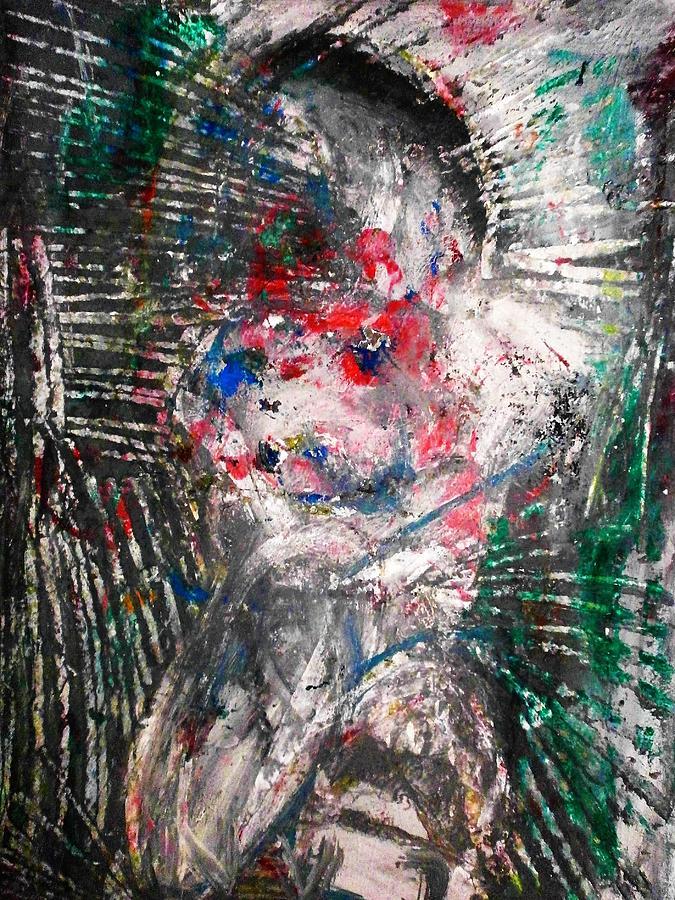 Painting Painting - Relaps by Hugo Razlerfight