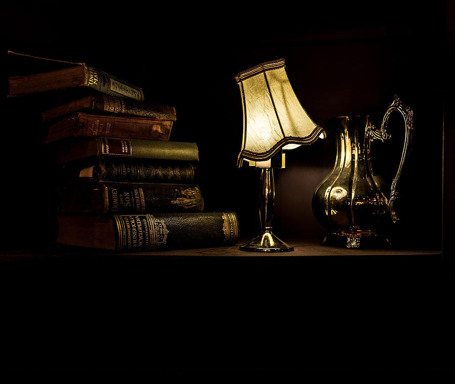 Lamp Photograph - Relax by Carlene Smith