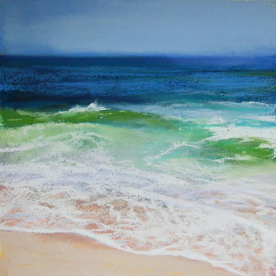 Wave Pastel - Relax by Jeanne Rosier Smith