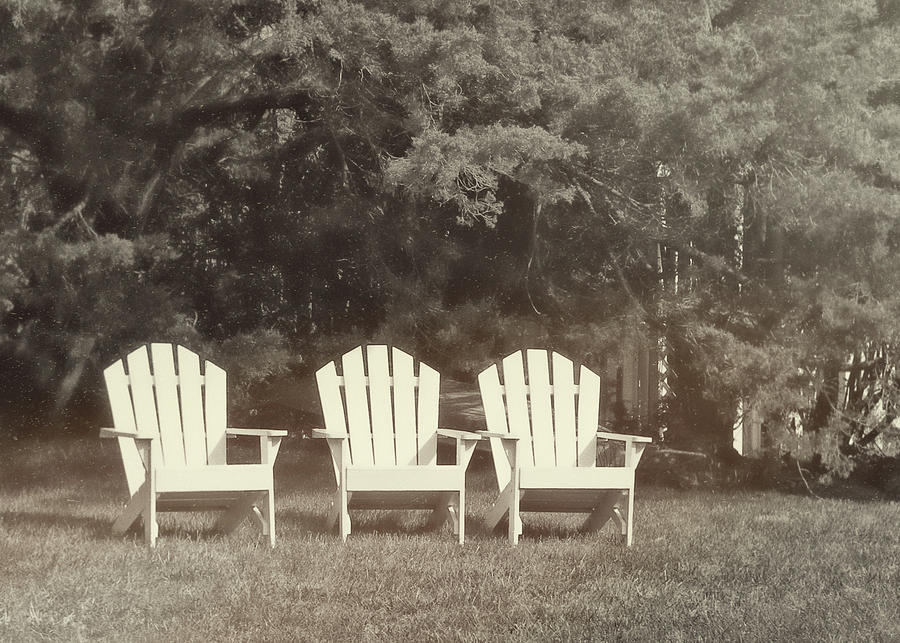 Adirondack Photograph - Relax On The Cape by JAMART Photography