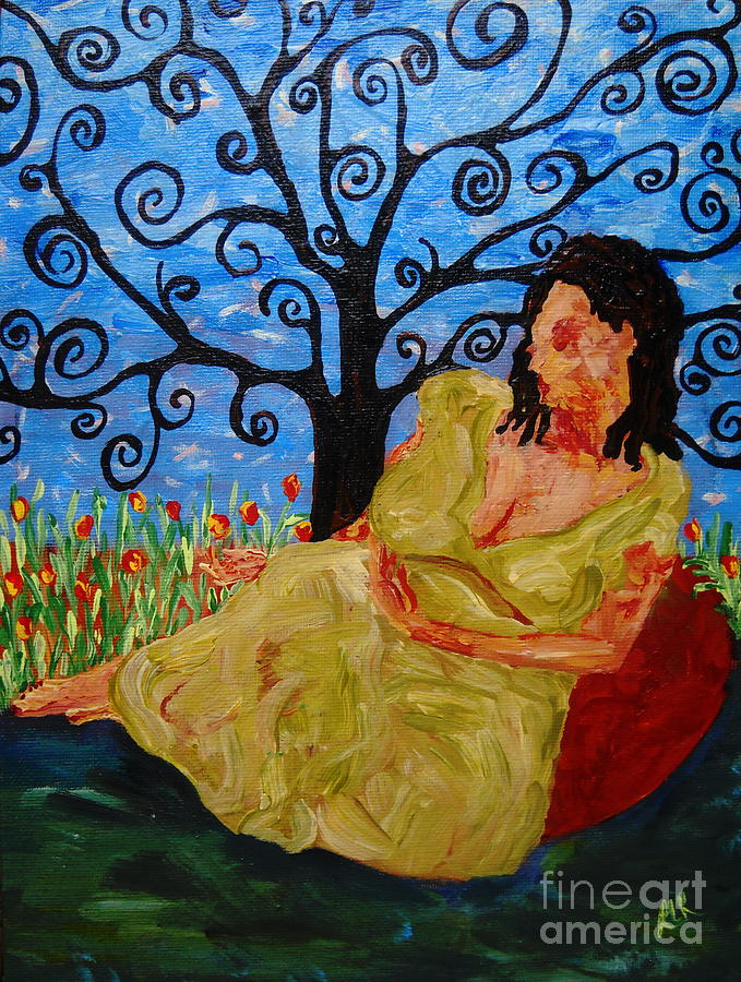 Relax Painting by Reina Resto