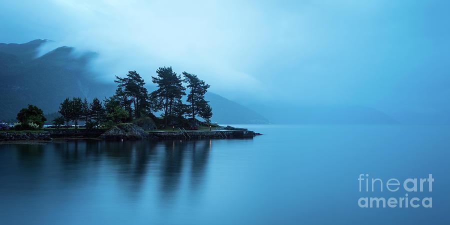 Balestrand Photograph - Relaxed view at Balestrand by Paolo Sirtori