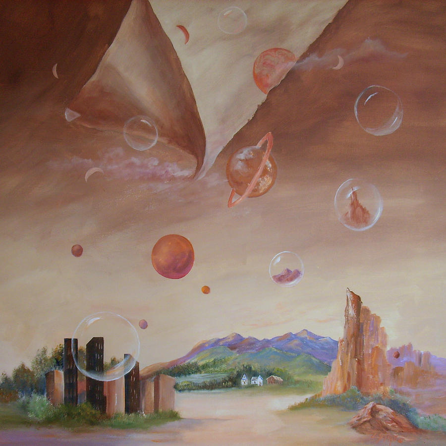Planets Painting - Released by Carolyn Saine