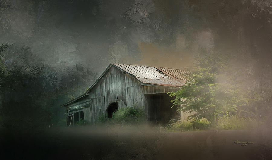Barn Photograph - Relic Of The Past by Marvin Spates