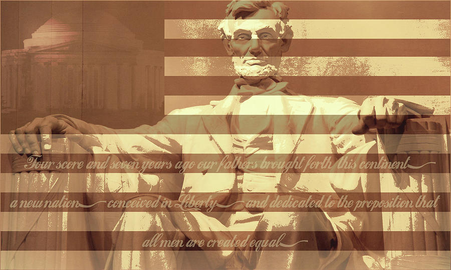 Abraham Lincoln Digital Art - Remember Me by Christopher Adkins