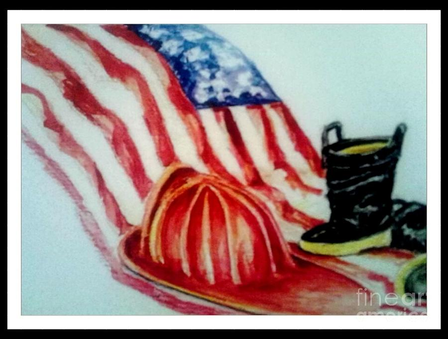 Remembering 9/11 Painting by Patricia Ducher