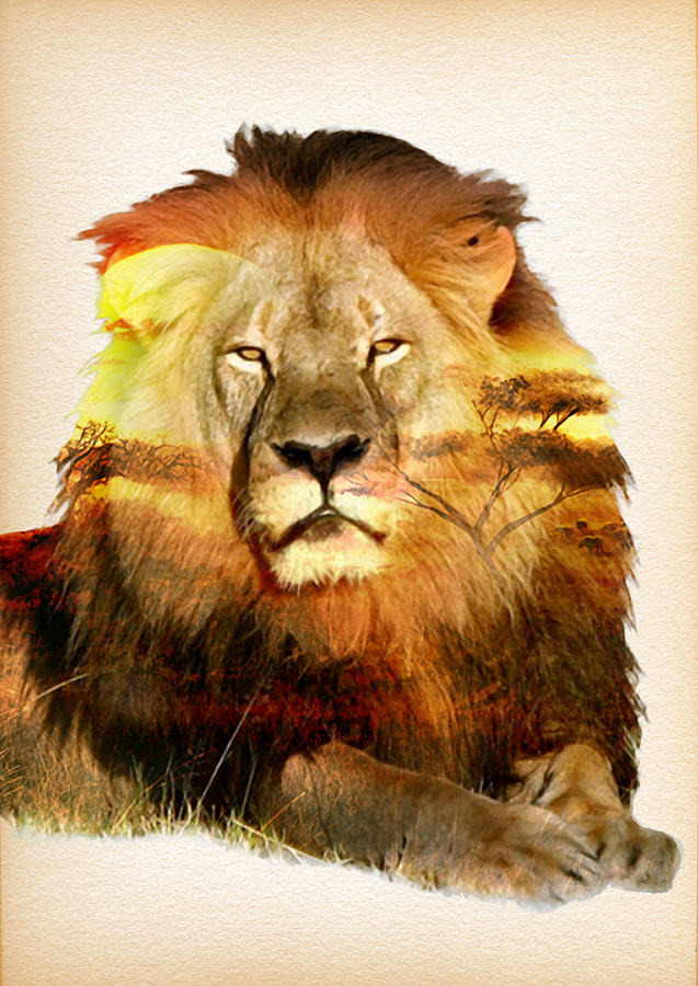 Remembering Cecil The Lion Painting By Diana Van