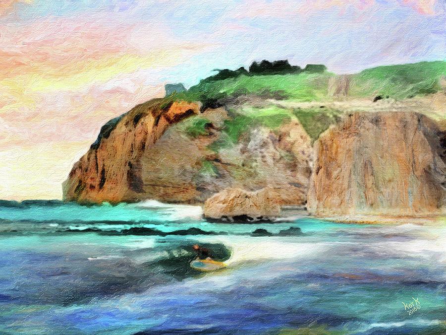 Remembering Dana Point Digital Art