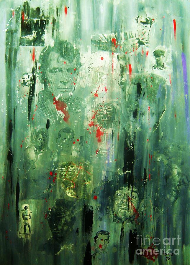 Rememberance Painting - Remembering Kerouac by Roberto Prusso