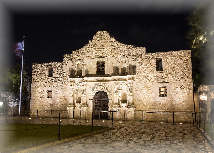 Alamo Photograph - Remembering The Alamo by Stephen Stookey