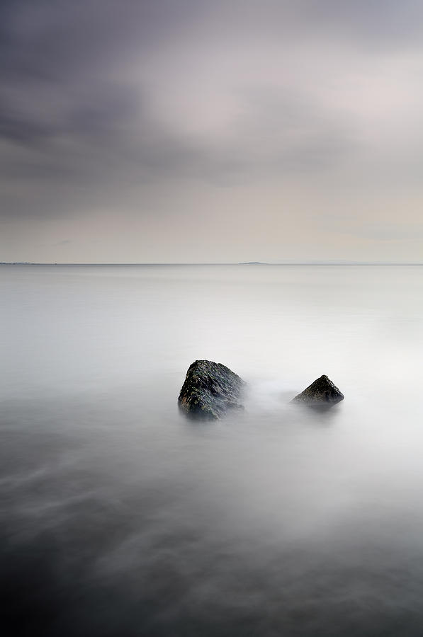 Seascape Photograph - Remnant by Grant Glendinning