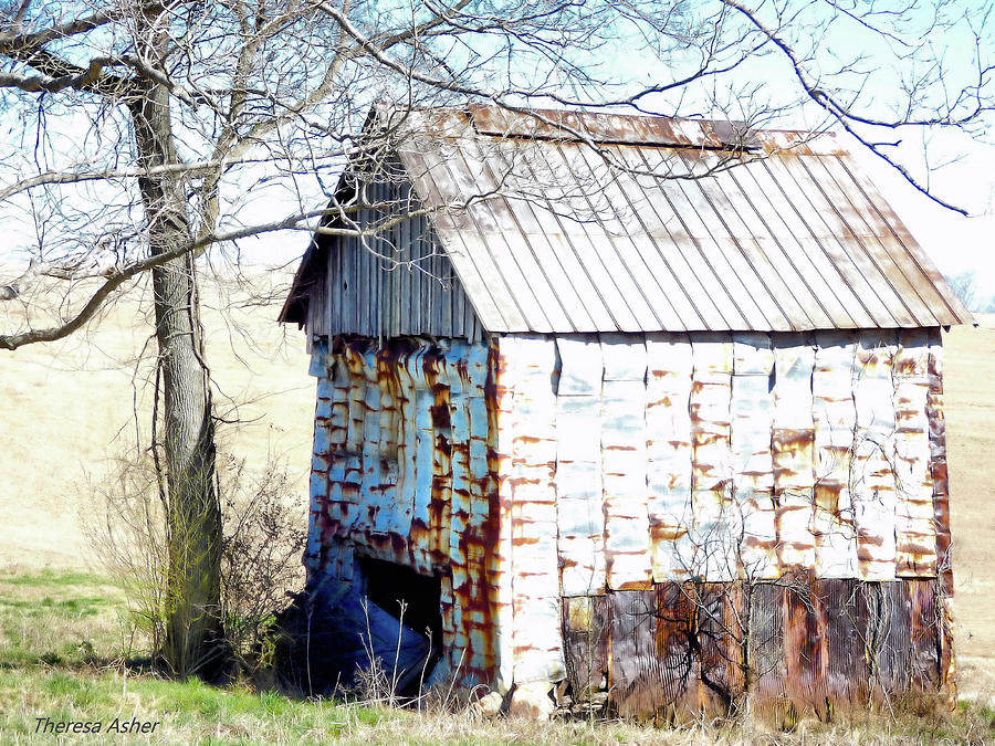 Old Building Photograph - Remnant Of The Past by Theresa Asher