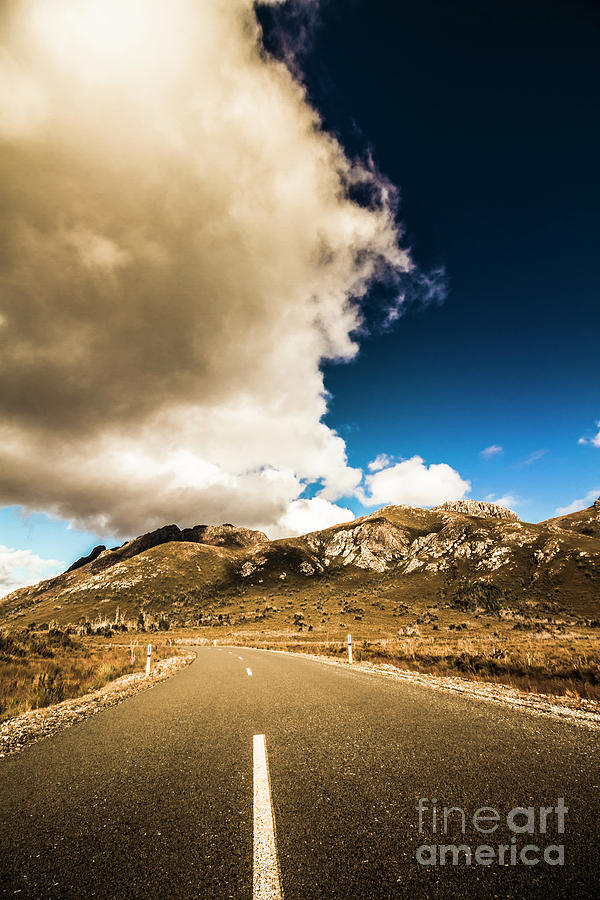 Remote Photograph - Remote Rural Roads by Jorgo Photography - Wall Art Gallery
