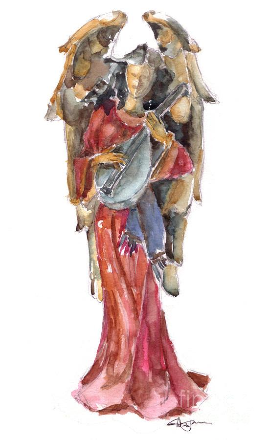 Angel Painting - Renaissance Angel by Claudia Hafner