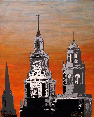 Providence Painting - Renaissance City by Greg Leonard