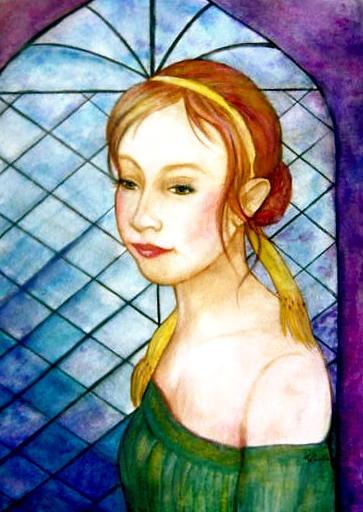 Portrait Commission Painting - Renaissance by L Lauter