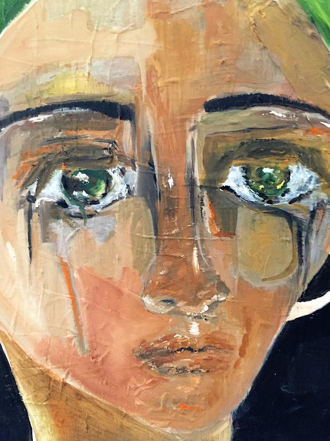 People Painting - Renatta by Andrea Vazquez-Davidson