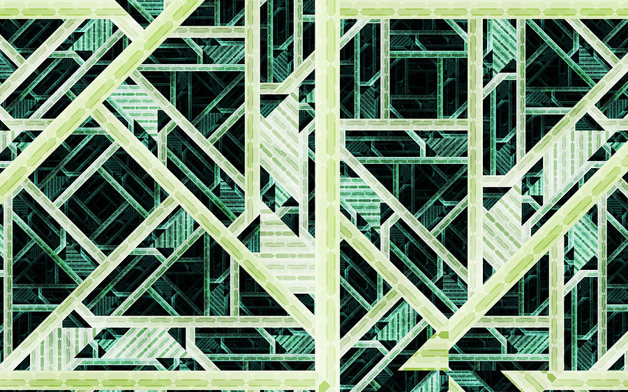 Rendering Engine Digital Art by Misha Borodin