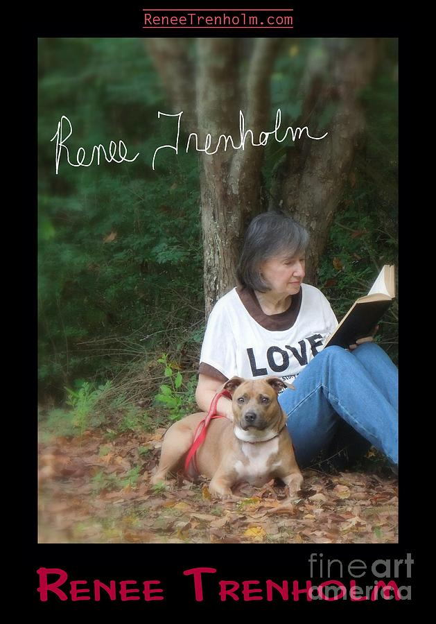 Autographed Photograph - Renee Trenholm . Signed by Renee Trenholm