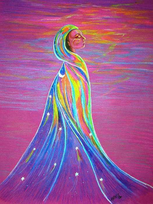 Women Painting - Renewal by Margaret Platt