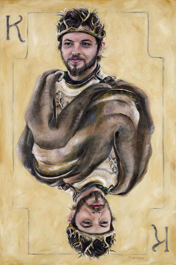 Got Painting - Renly Baratheon by Denise H Cooperman
