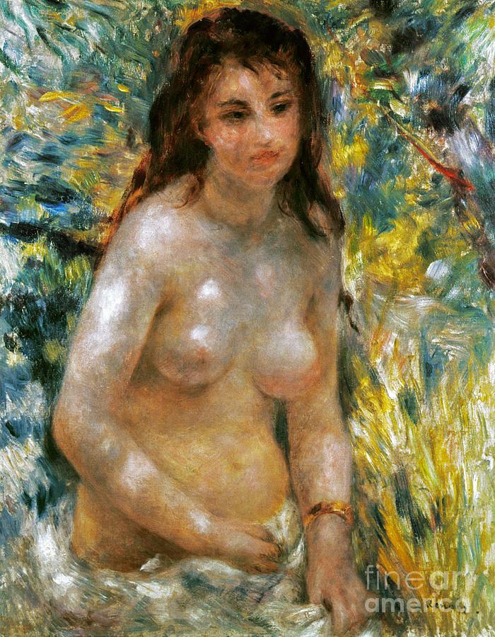 1876 Photograph - Renoir: Torso, C1876 by Granger