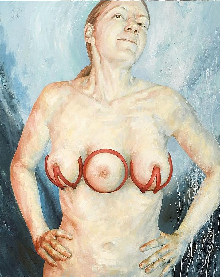 Figure Painting - Repair by Joyce Polance