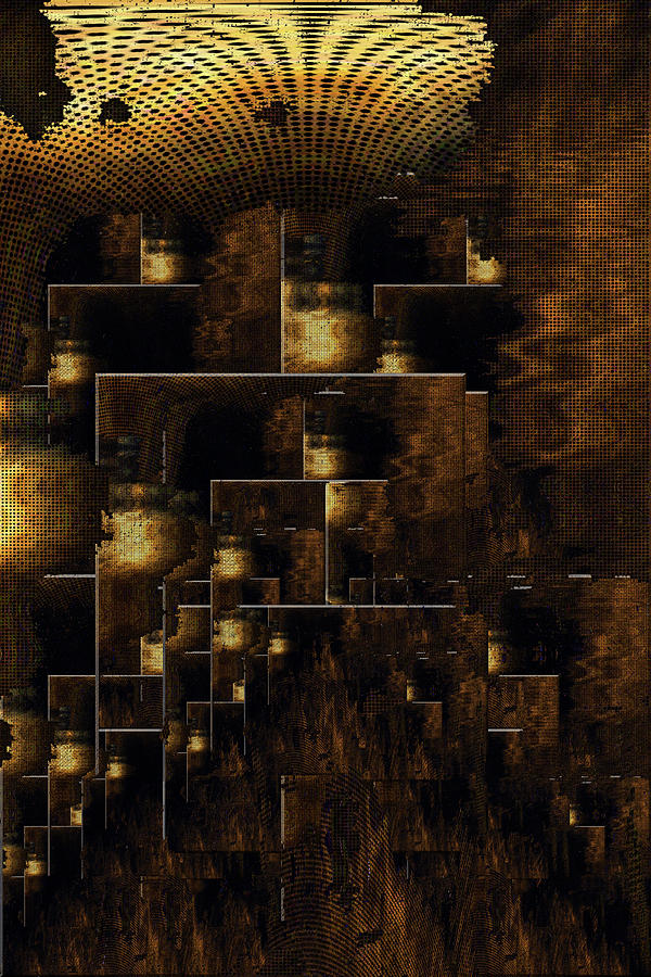 Repeat Digital Art - Repetition  by Heinrich Zimmermann