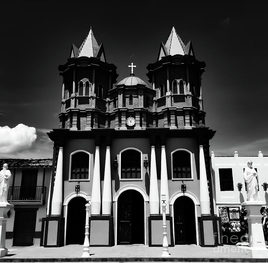 Replica Church In El Penol by Camille Pascoe