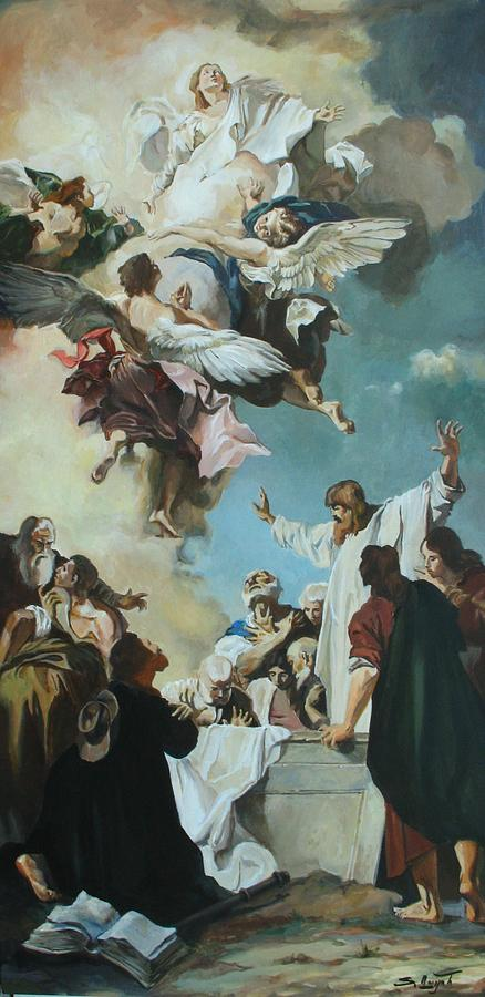 Replica of the Assumption of the Virgin by Giacomo Piazzetta by Tigran Ghulyan
