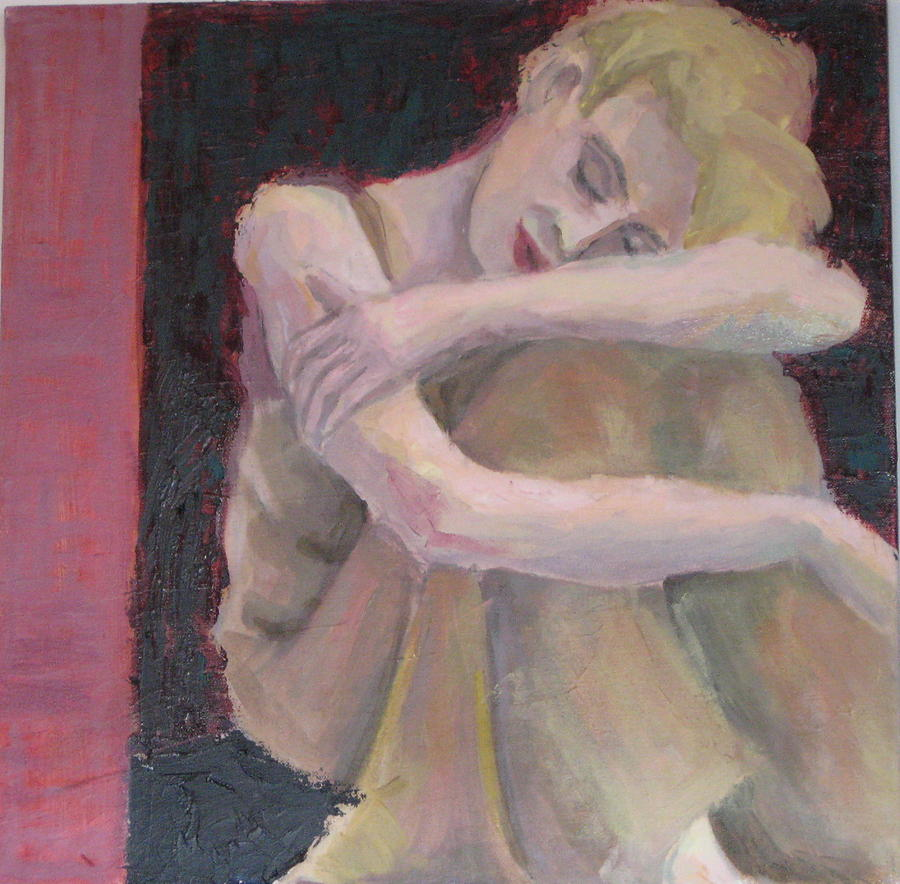 Woman Painting - Repose by Connie Freid