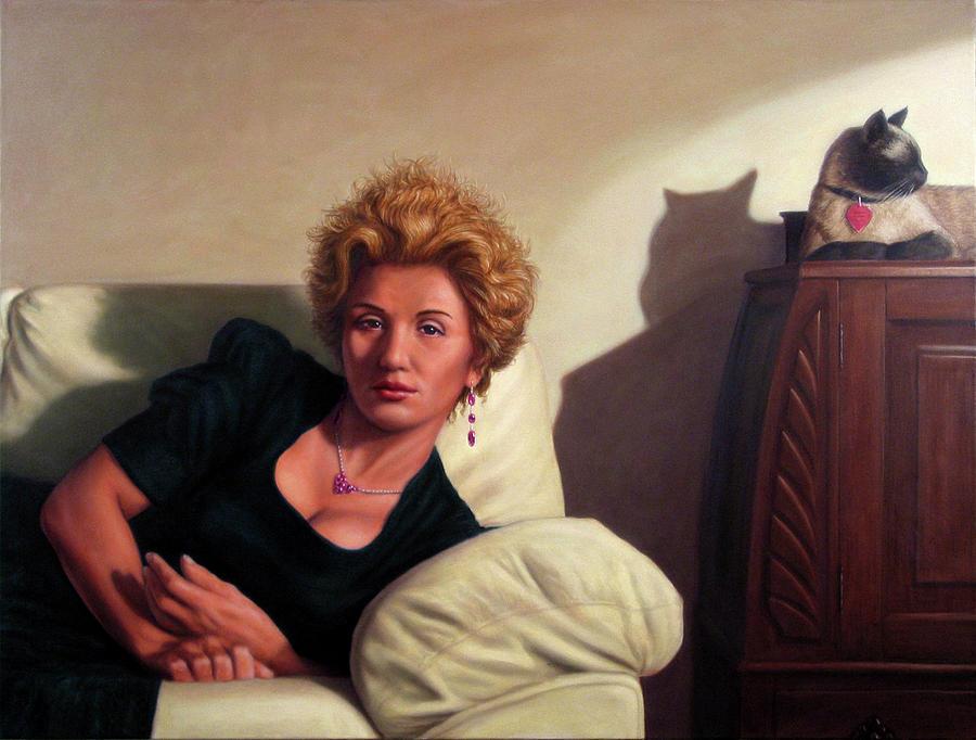 Repose Painting - Repose by James W Johnson